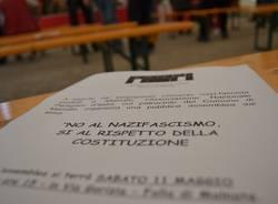 Gli antifascisti si ritrovano a Malnate (inserita in galleria)