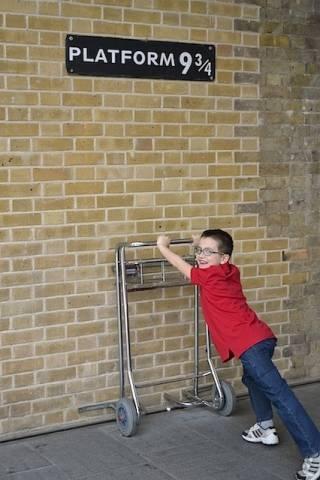 Harry Potter, Il Binario 9 e tre quarti (inserita in galleria)