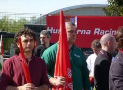 I lavoratori Husqvarna in diretta su Rai Tre (inserita in galleria)