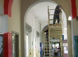 I lavori alla scuola Parini (inserita in galleria)