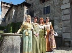 In costume al Castello di Somma Lombardo (inserita in galleria)