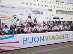 La nave della legalità verso Palermo (inserita in galleria)
