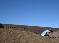 La rocca di Santa Maria degli Angeli sul Monte Tamaro (inserita in galleria)
