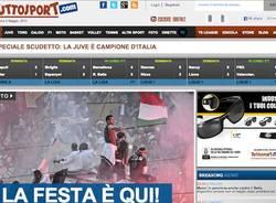 Le home page del 5 maggio (inserita in galleria)