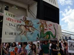 Le Navi della Legalità sbarcano a Palermo (inserita in galleria)