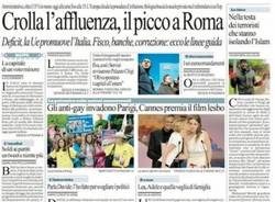 Le prime pagine di oggi (inserita in galleria)