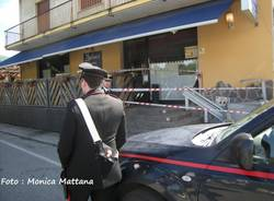 Leggiuno, le indagini dei carabinieri (inserita in galleria)