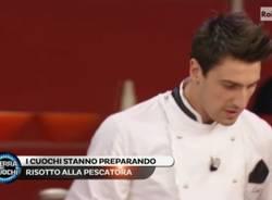 Luca Vicentini passa il turno alla terra dei Cuochi (inserita in galleria)