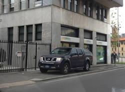 Parcheggio irregolare a Gallarate (inserita in galleria)