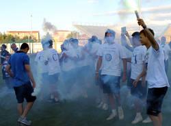 Pro Patria, la festa allo stadio (inserita in galleria)