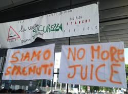 Protesta a Malpensa (inserita in galleria)