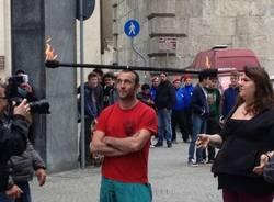 Va per strada, i giocolieri a Varese (inserita in galleria)