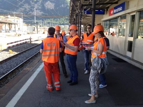 I lavori svizzeri dell'Arcisate Stabio (inserita in galleria)