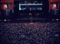 Il concerto di Springsteen visto da Instagram (inserita in galleria)