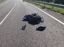 Incidente in moto a Gemonio (inserita in galleria)