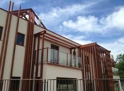 Legno e pannelli solari, una nuova casa per la Cooperativa Arca (inserita in galleria)