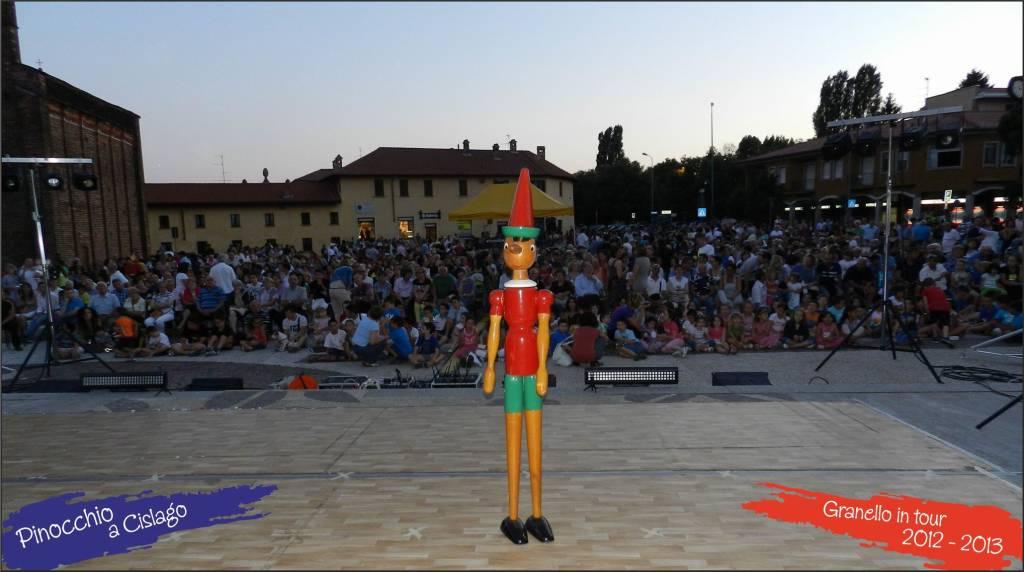 Pinocchio a Cislago - Piazza della Chiesa