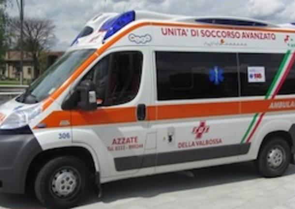 ambulanza sos valbossa