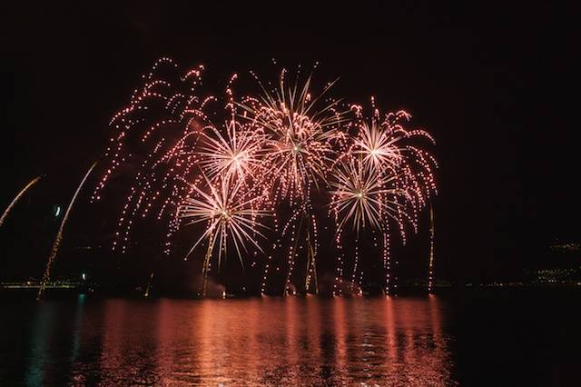 Fireworks at Luino