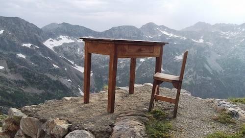 Il pensatoio delle montagne
