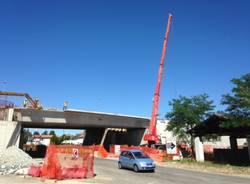 Pedemontana, i lavori sul viadotto lungo la ss341 (inserita in galleria)