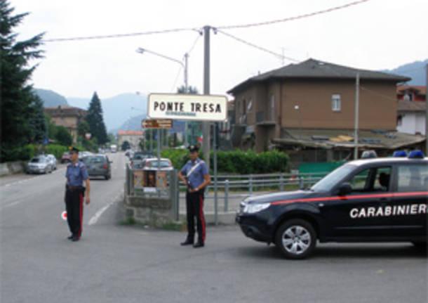 carabinieri ponte tresa lavena