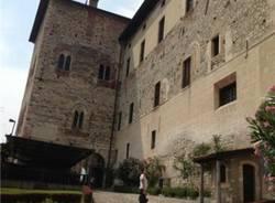Dentro la Rocca do Angera (inserita in galleria)