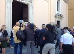 I funerali di Maria Angela a Saronno (inserita in galleria)