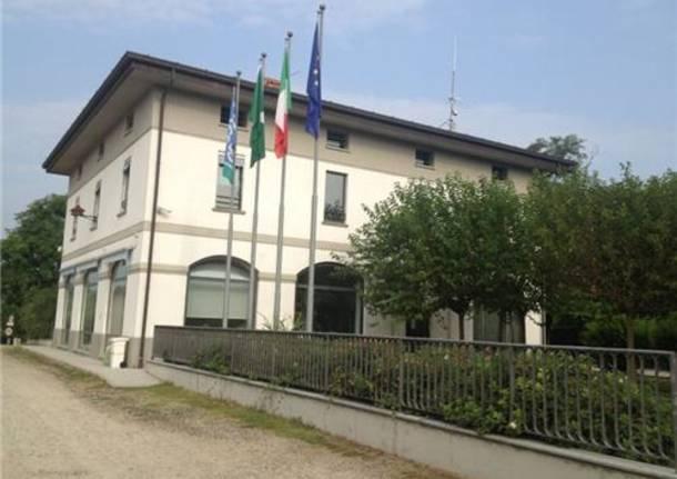 Il Centro Parco 201CEx Dogana Austroungarica201D a Tornavento (inserita in galleria)