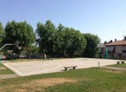 Nuovo campo da basket a Olgiate Olona (inserita in galleria)