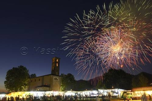 Sant'Eusebio fuochi d'artificio 2013