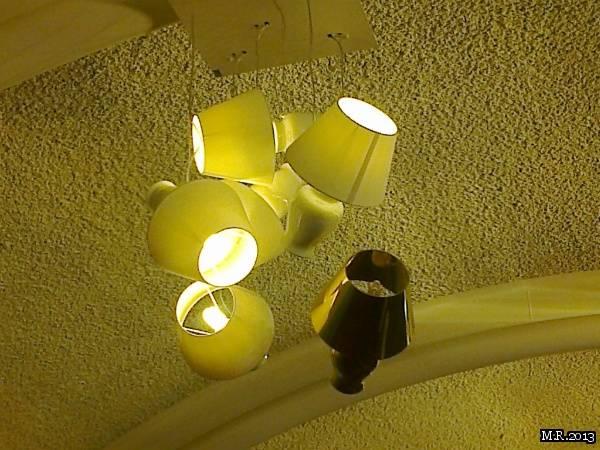 Un lampadario