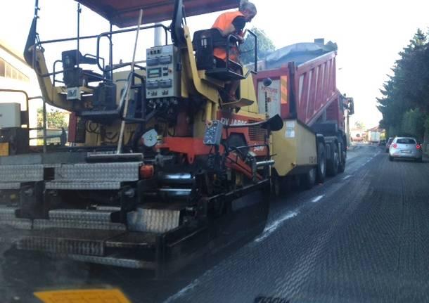 asfaltatura castronno