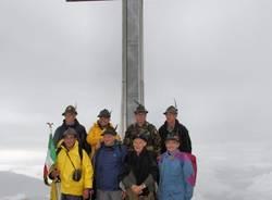 Gli alpini alla Forcora (inserita in galleria)