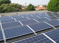impianto fotovoltaico pannelli solari asilo cairate