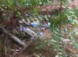 Amianto nei boschi di Vergiate (inserita in galleria)