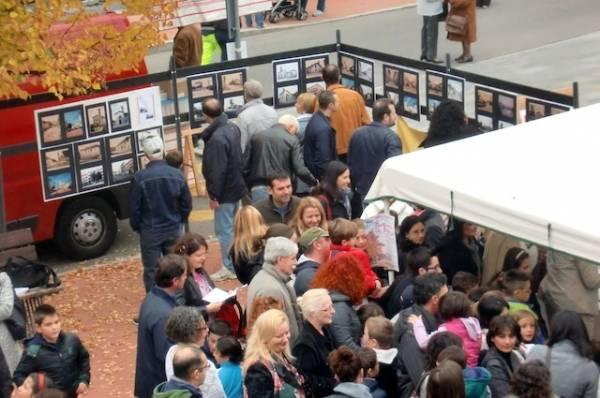 Autunno in piazza a Gerenzano (inserita in galleria)