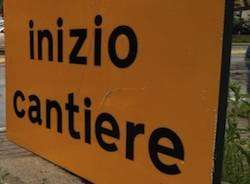cantiere apertura arcisate stabio cartello