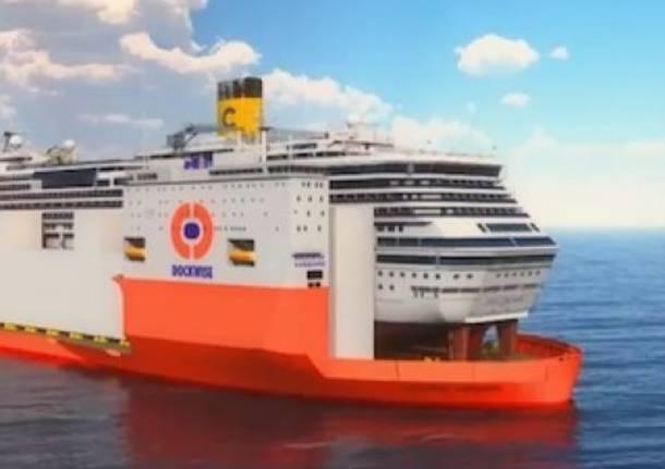 Ecco come sarà rimossa la Costa Concordia