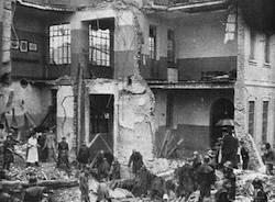 gorla bombardamento