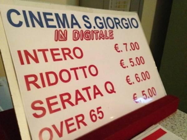 Il cinema San Giorgio (inserita in galleria)