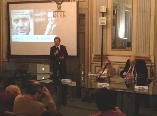 Il convegno su Vittorio Sereni (inserita in galleria)