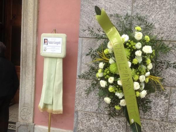 Il funerale di Natale Giorgetti (inserita in galleria)