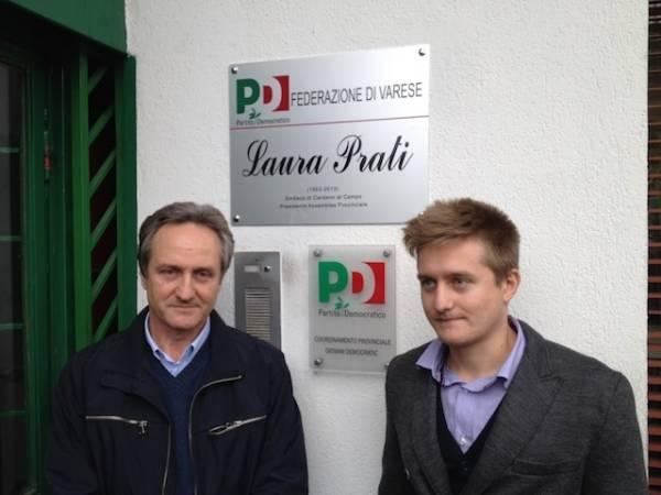 Il Pd intitola la sede a Laura Prati (inserita in galleria)