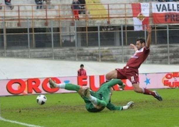 La spettacolare partita Varese-Trapani