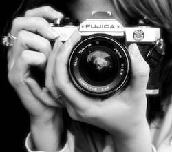 macchina fotografica mostra apertura
