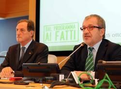 maroni mantovani regione lombardia conferenza stampa