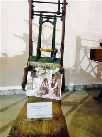 Nel museo del tessile (inserita in galleria)
