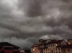 Nuvoloni e temporali in provincia  (inserita in galleria)