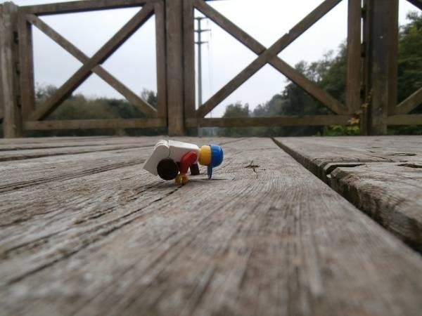 Ponte sull'Olona in cattive condizioni lo dicono i lego (inserita in galleria)